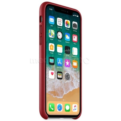 Etui APPLE do iPhone X MQTE2ZM/A Czerwony