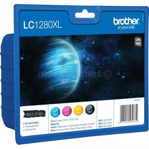 Tusz BROTHER LC1280XL-VALBP Blister Pack Rainbow