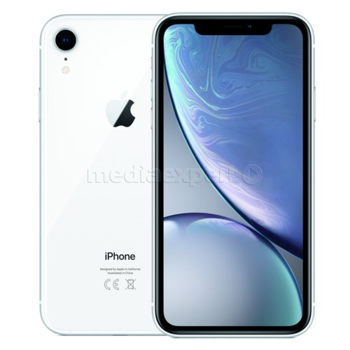 Smartfon APPLE iPhone Xr 128GB Biały
