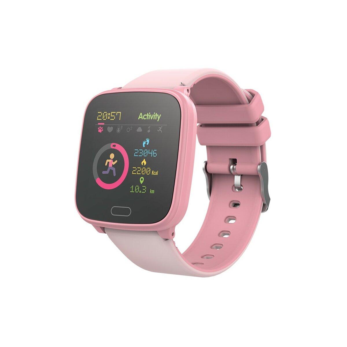 Forever iGO JW-100 Vandtæt Smartwatch til Børn - Pink