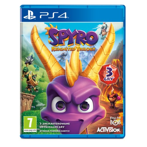 Spyro Reignited Trilogy Gra PS4