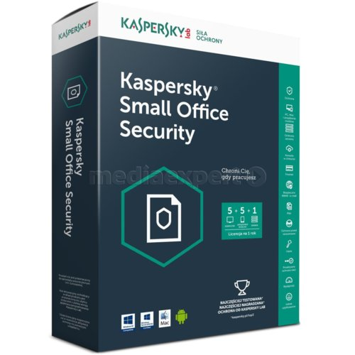 Program KASPERSKY Small Office Security (5 stan. 12 mies.)