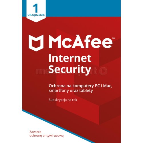 Program MCAFFE Internet Security 2018