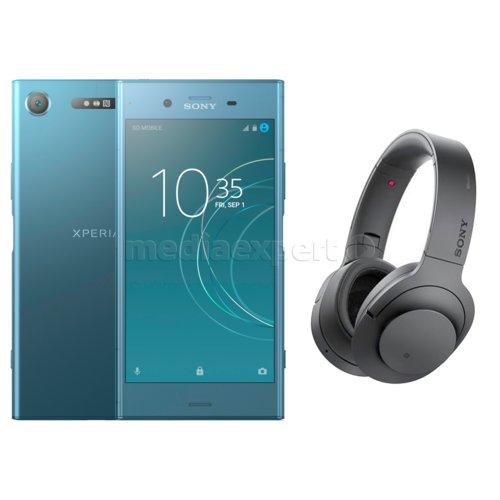Smartfon SONY Xperia XZ1 Niebieski + Słuchawki MDR ZX770BN