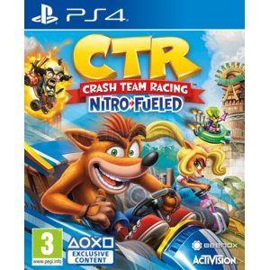 Crash Team Racing Nitro-Fueled Gra PS4