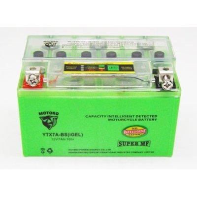 Akumulator MOTORQ YTX7A-BS iGEL + Tester napięcia AK003BE