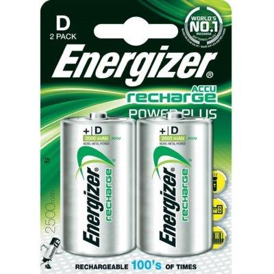 Akumulatorki D 2500 mAh ENERGIZER (2 szt.)