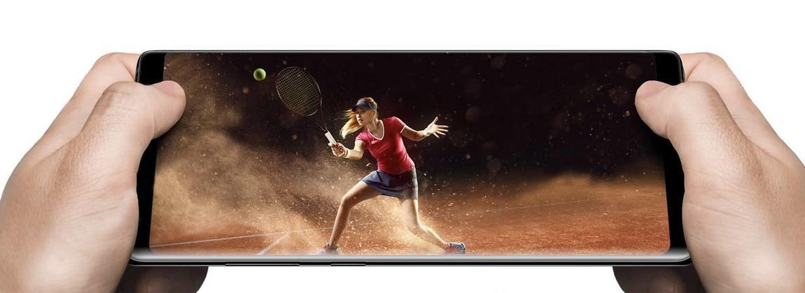 Samsung Galaxy Note 8 Infninity Display