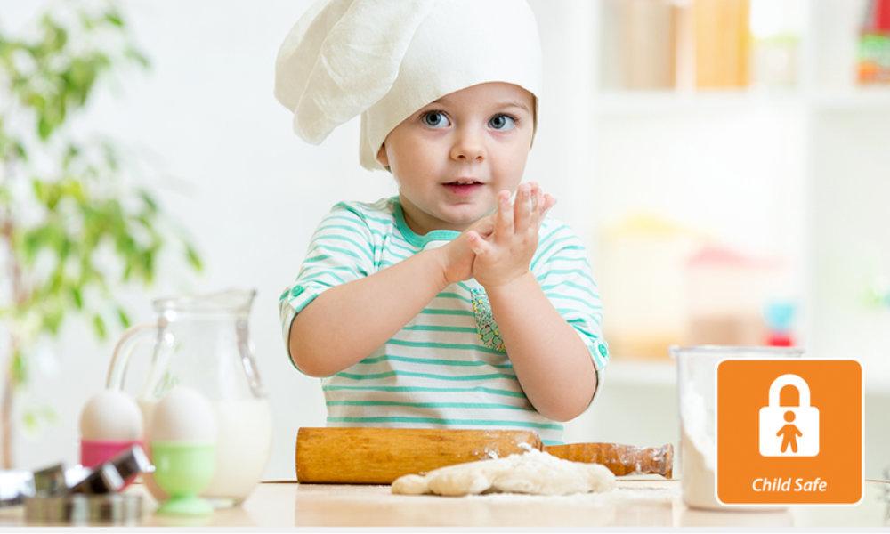 Piekarnik WHIRLPOOL AKZM 8421 H NB - Zabezpieczenie przed dziećmi