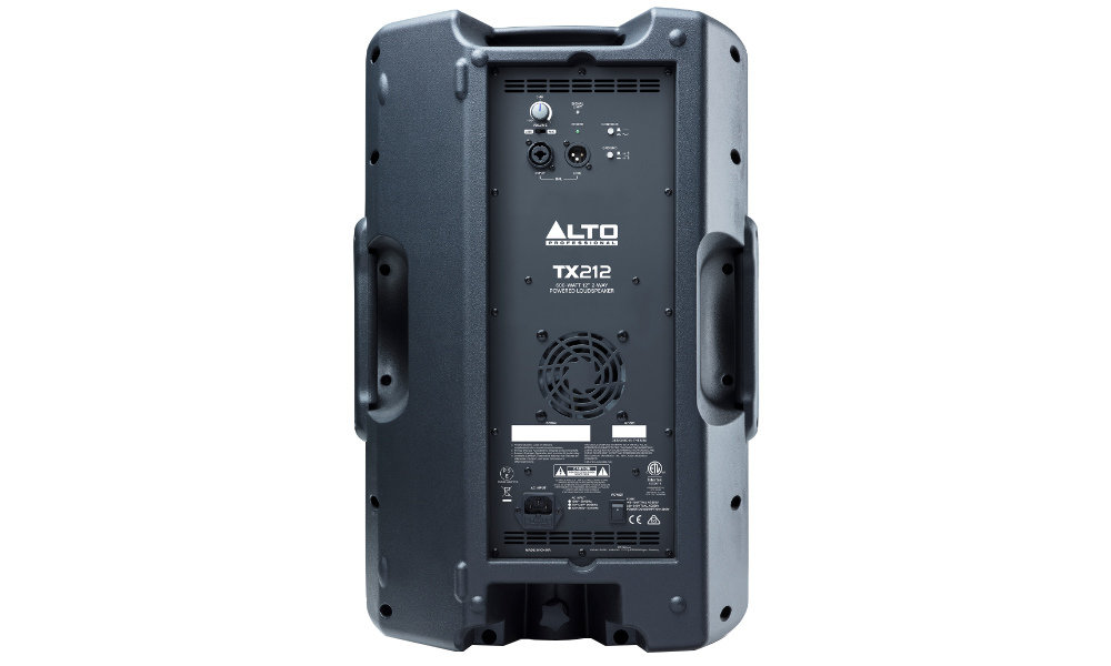 Power Audio ALTO TX215 - Złącza