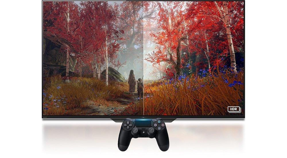 Konsola SONY PlayStation 4 Slim hdr światło kolory