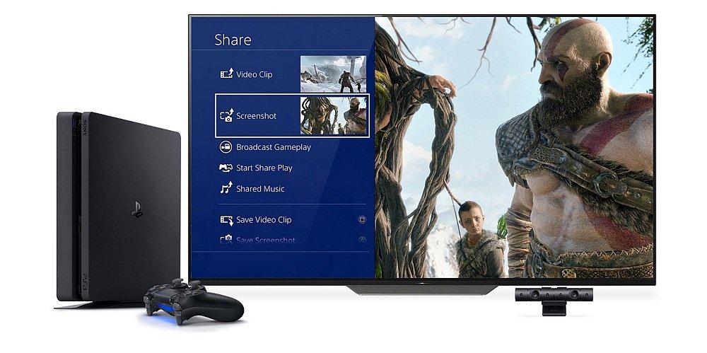 Konsola SONY PlayStation 4 Slim social media udostępnianie