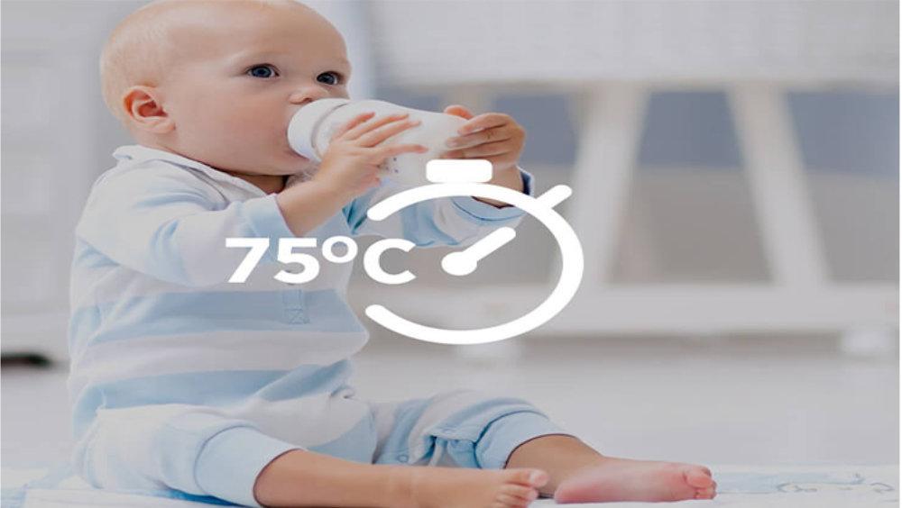 Kuchnia elektryczna ze zmywarką CANDY TRIO 9503/1 W/U - Program higieniczny w 75°C