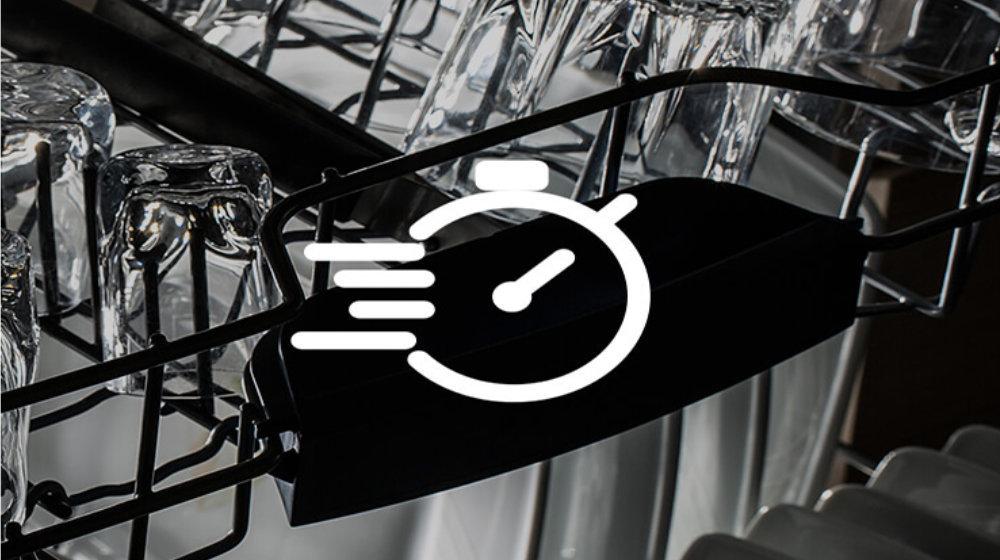 Kuchnia elektryczna ze zmywarką CANDY TRIO 9503/1 W/U - Programy krótkie