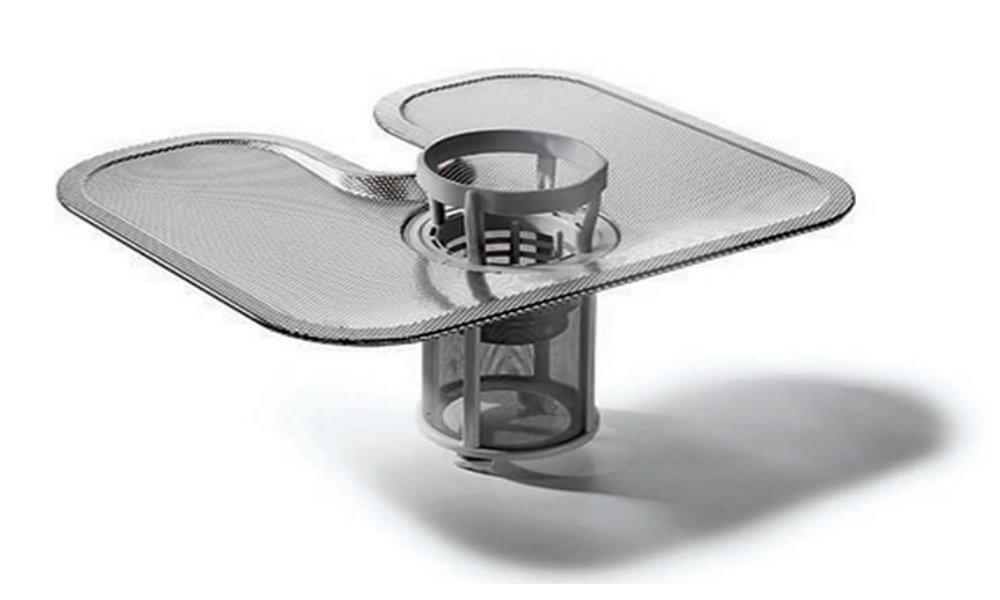 Kuchnia elektryczna ze zmywarką CANDY TRIO 9503/1 W/U - Samoczyszczący filtr