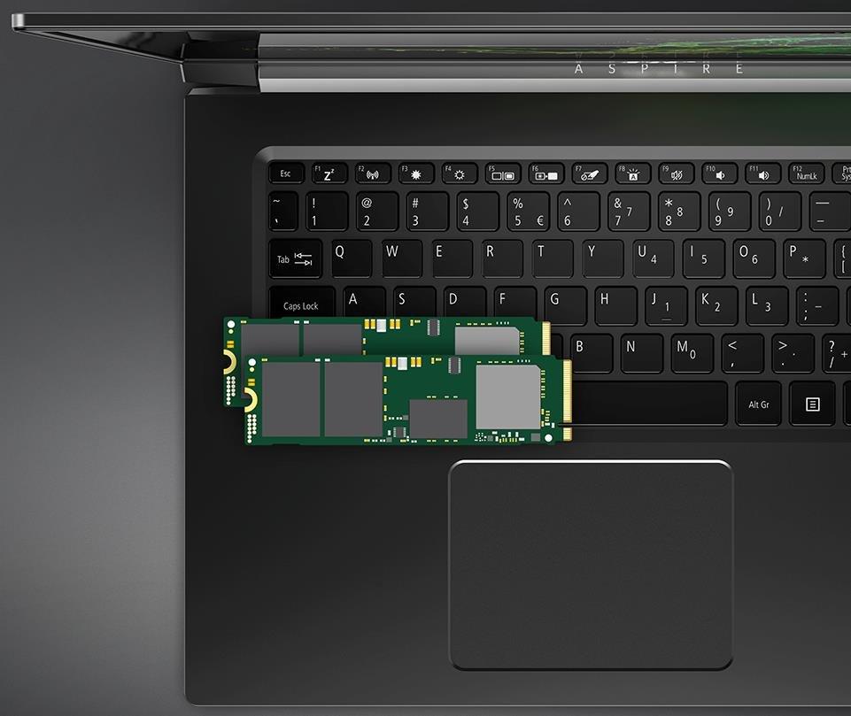 Laptop ACER Aspire 7 - Dysk SSD