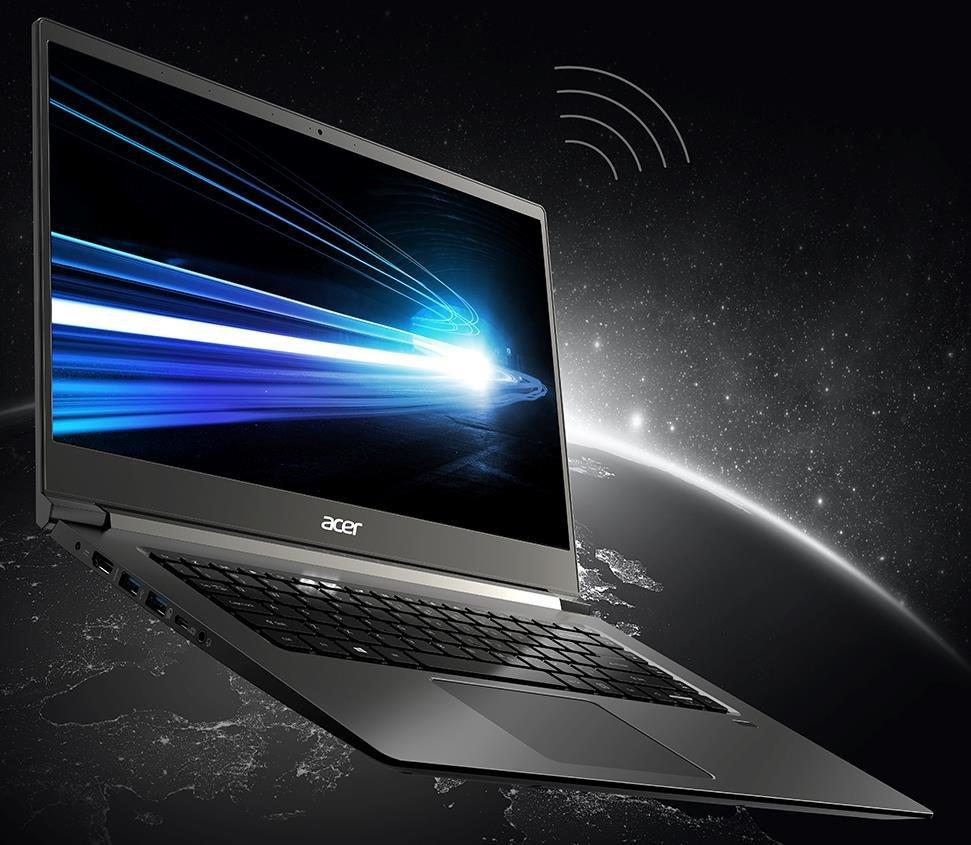 Laptop ACER Aspire 7 - łączność
