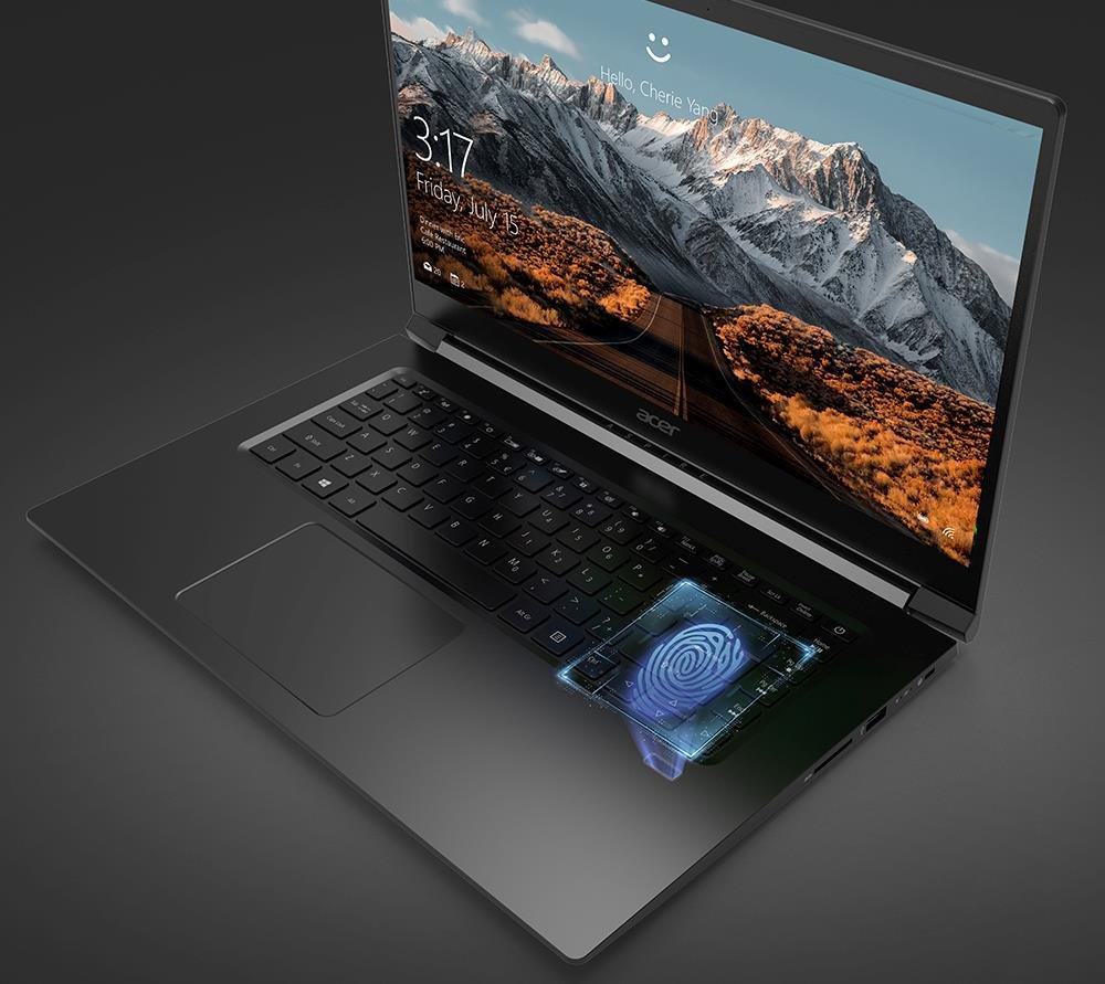 Laptop ACER Aspire 7 - Windows