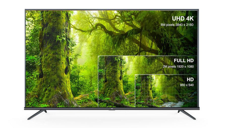 Telewizor TCL LED 43EP660X1 - Rozdzielczość 4K