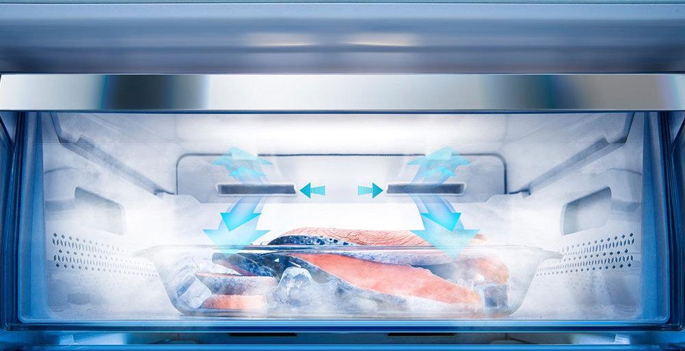 HISENSE RS694N4TF2 Холодильник - Быстрое замораживание