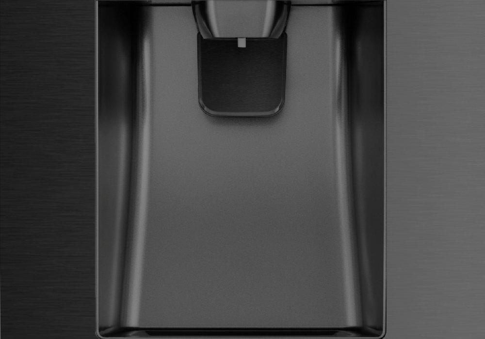 HISENSE RS694N4TF2 Холодильник - идеально охлажденная вода и свежий лед в любое время