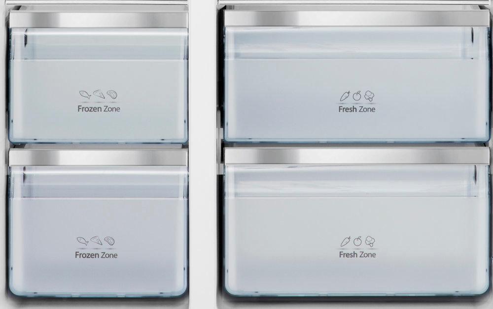 Холодильник HISENSE RS694N4TF2 - зона хранения Fresh Zone