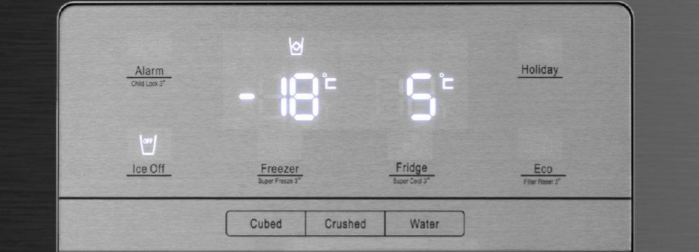Холодильник HISENSE RS694N4TF2 - Интуитивное управление