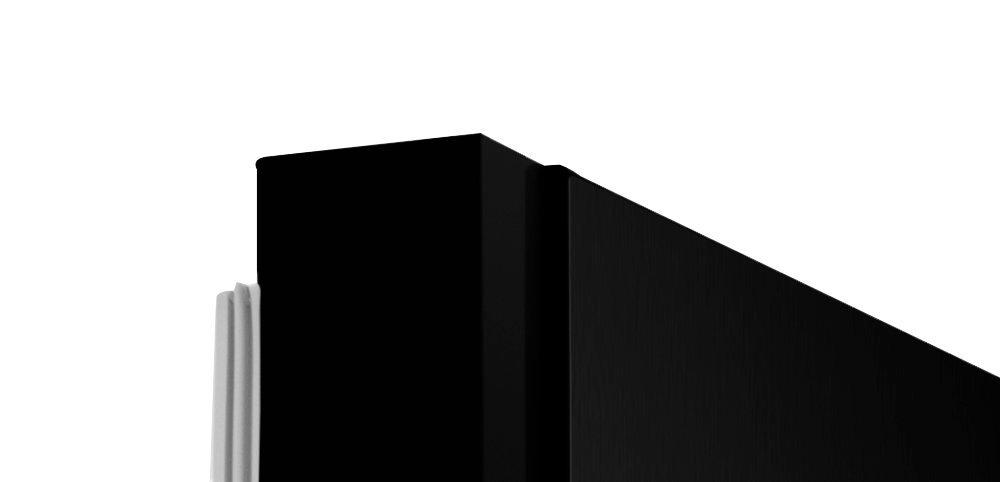 Холодильник HISENSE RS694N4TF2 - скрытые петли