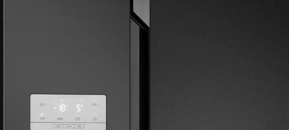 Холодильник HISENSE RS694N4TF2 - Гладкая дверь