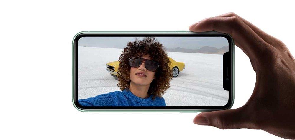 SMARTFON APPLE IPHONE 11 selfie aparat portret