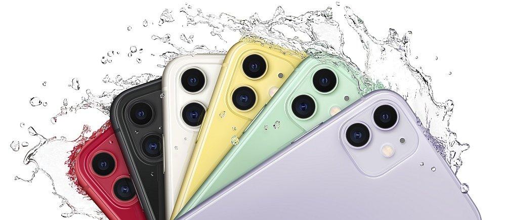 SMARTFON APPLE IPHONE 11 odporność woda