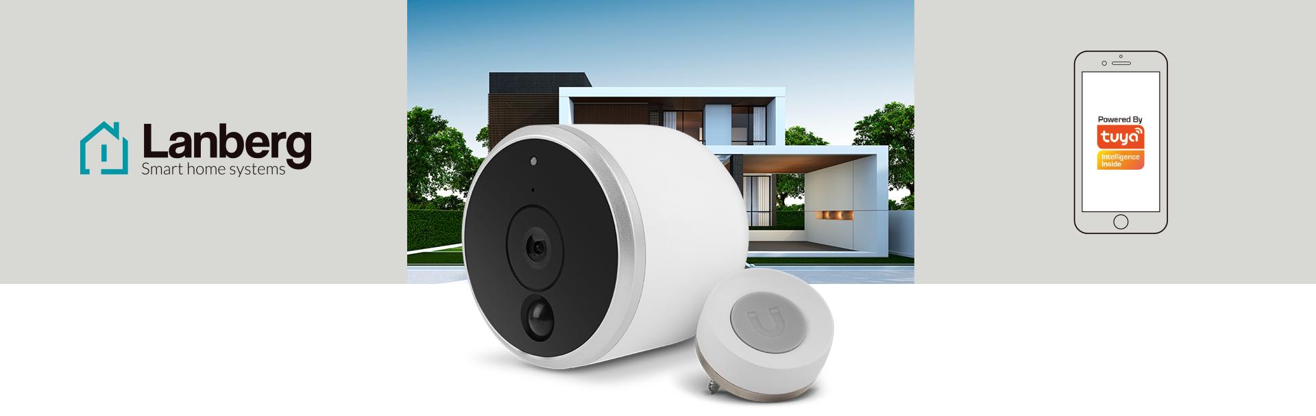 LANBERG Smart Home Kamera IP - ceny i opinie w Media Expert