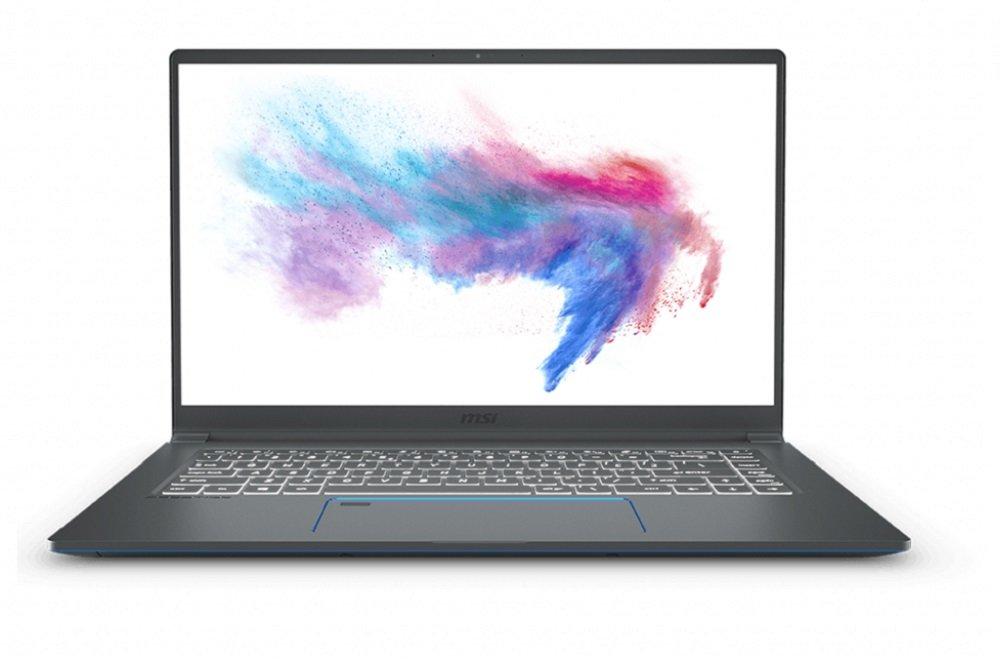 Laptop MSI Prestige 15 i7-10710U 8GB 512GB SSD GF-GTX 1650 Max-Q W10 ekran IPS wydajny stylowy dla wymagających