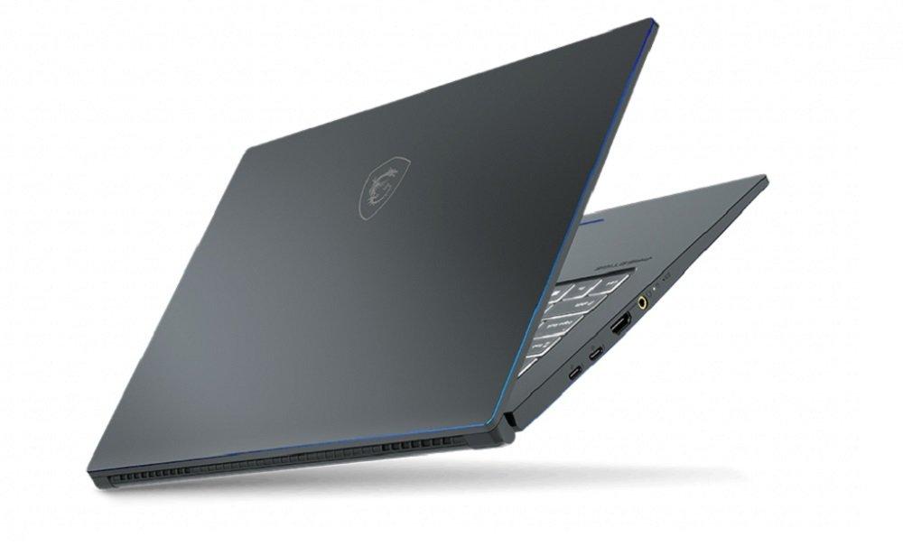 Laptop MSI Prestige 15 i7-10710U 8GB 512GB SSD GF-GTX 1650 Max-Q W10 procesor Intel Core i7-10710U ekran IPS 8 GB RAM DDR4