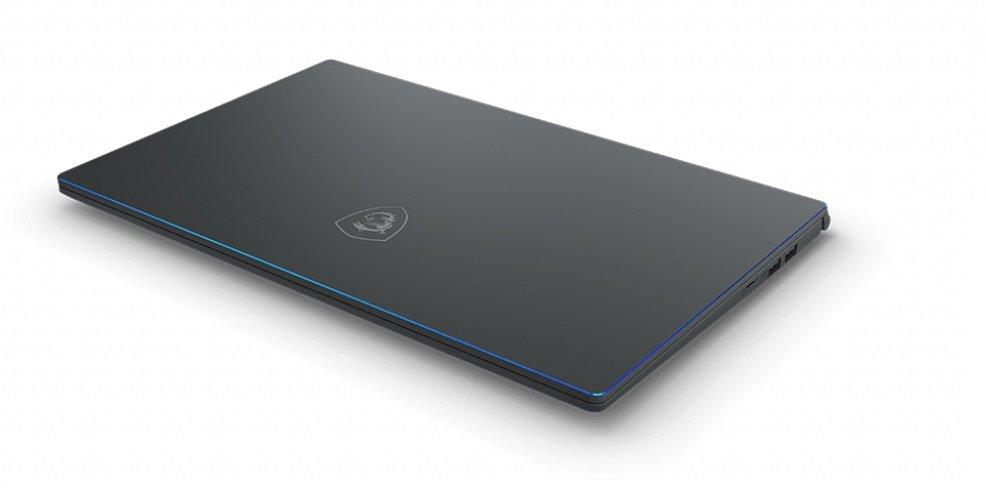 Laptop MSI Prestige 15 i7-10710U 8GB 512GB SSD GF-GTX 1650 Max-Q W10 Cooler Boost 3 system chłodzenia odprowadzanie ciepła