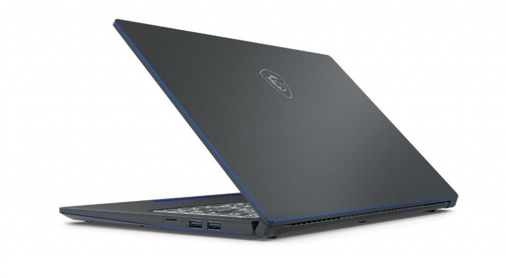 Laptop MSI Prestige 15 i7-10710U 8GB 512GB SSD GF-GTX 1650 Max-Q W10 port USB 3.1 USB typu C HDMI