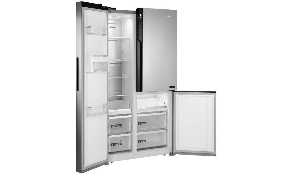 CONCEPT LA7791ss холодильник - светодиодное освещение