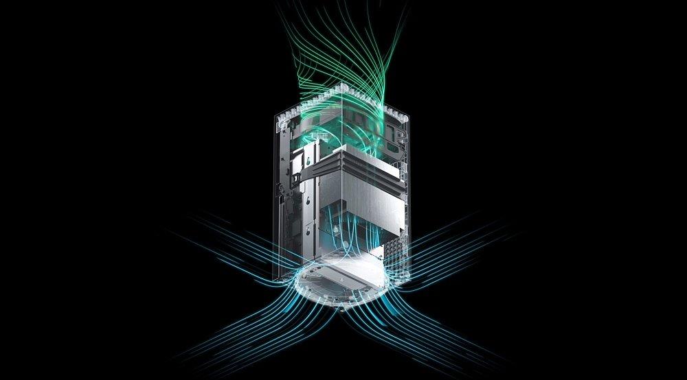 xbox series x продуктивність компонентів вентилятора консолі microsoft консолі