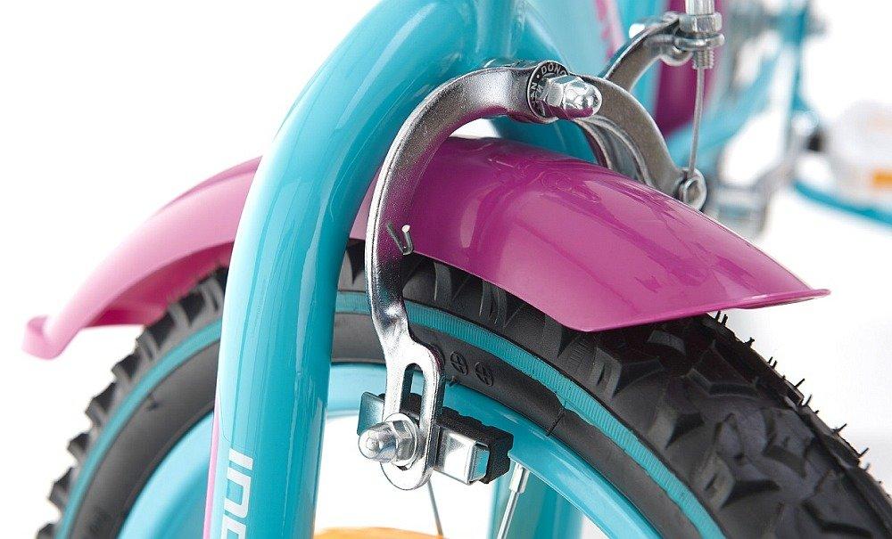 Rower INDIANA Roxy Kid 20 hamulce bezpieczny hamowanie skręcanie