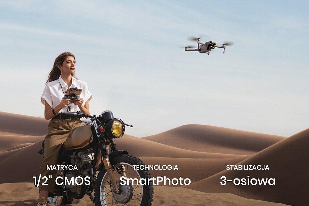 Dron DJI Mavic Air 2 kamera