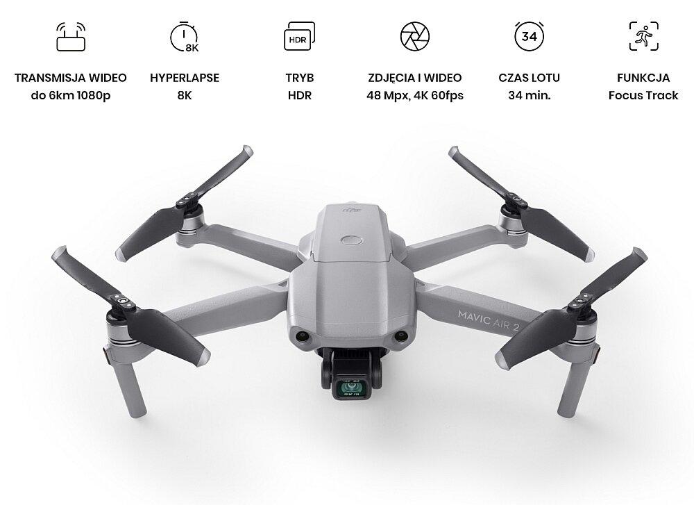 Dron DJI Mavic Air 2 hdr