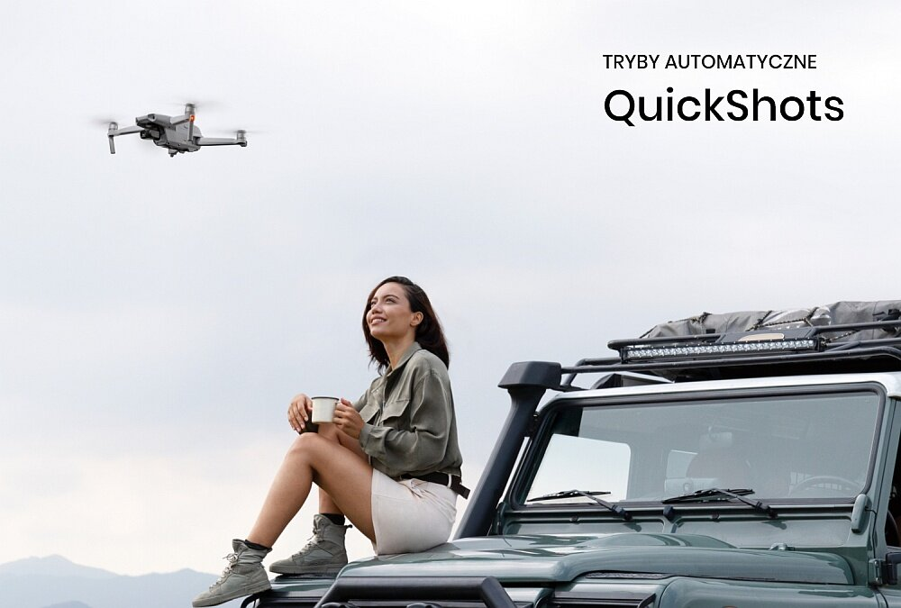 Dron DJI Mavic Air 2 tryby