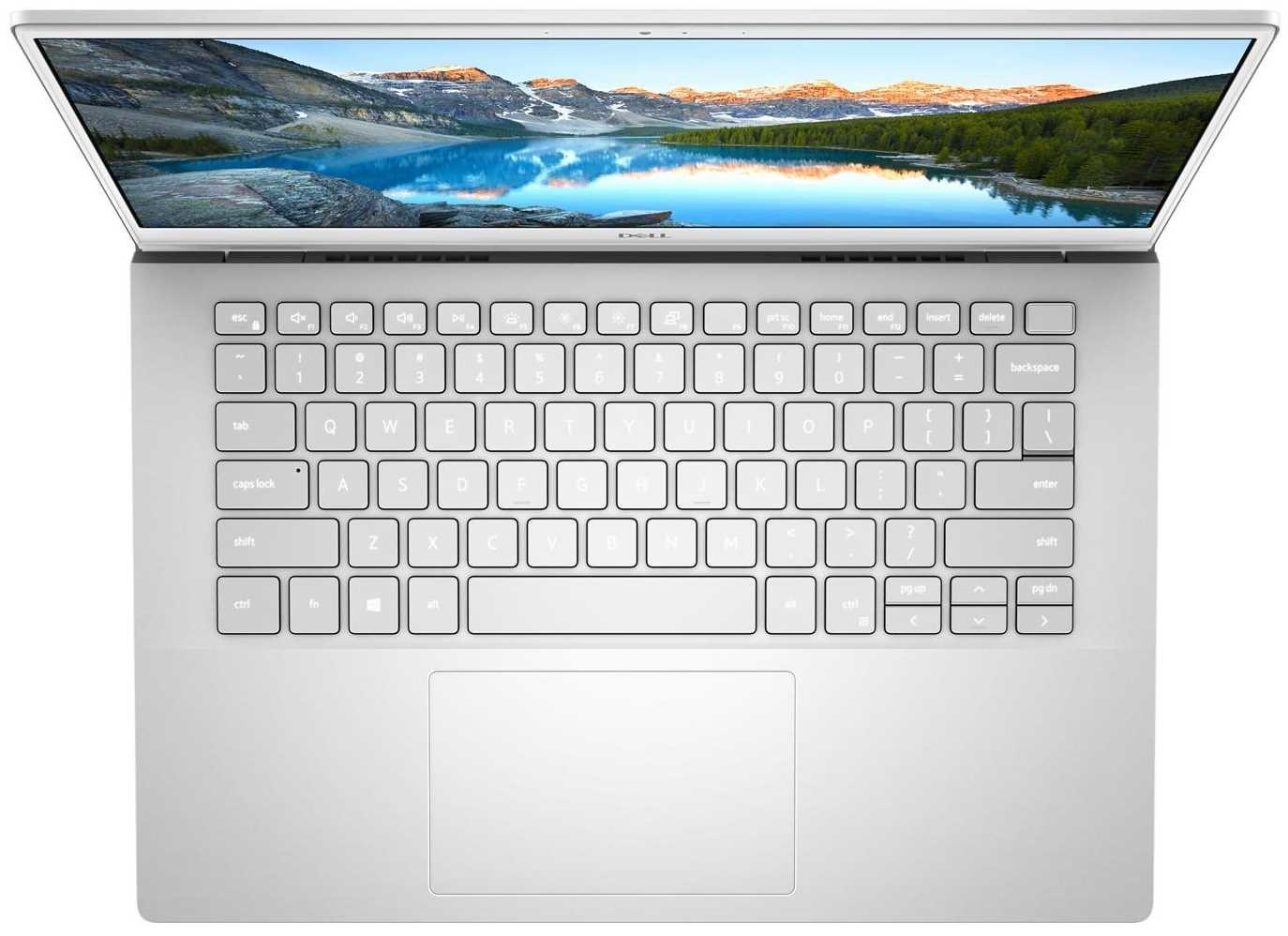 Laptop DELL Inspiron 14 5401 - podświetlenie klawiatury