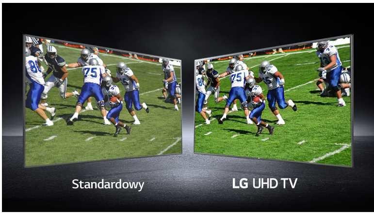 Telewizor LG LED 65UN74003LB - Szeroki kąt