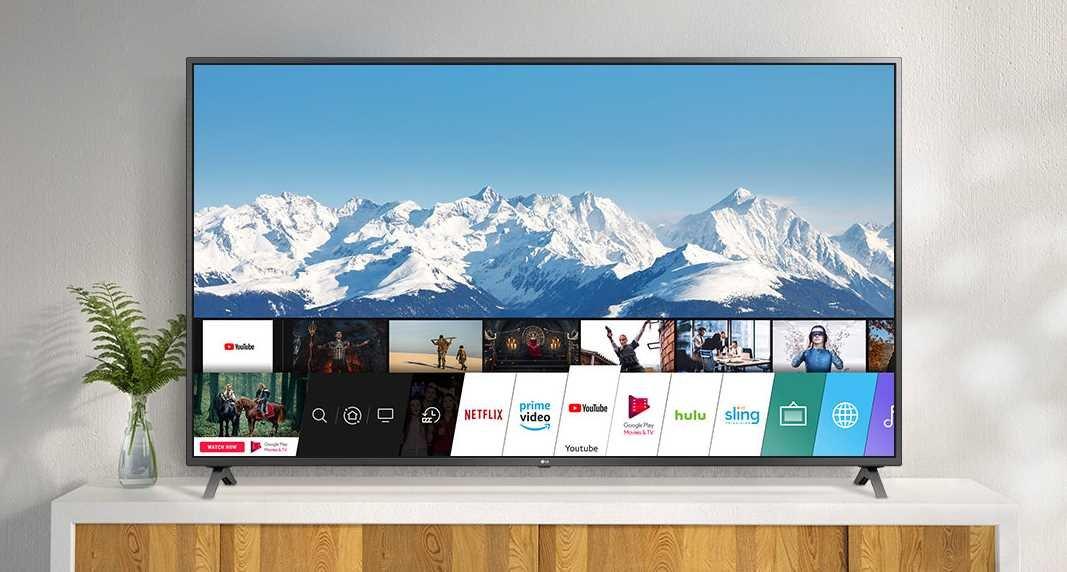 Telewizor LG LED 65UN74003LB - webOS