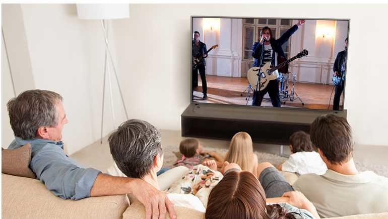 Telewizor LG LED 65UN74003LB - dźwięk