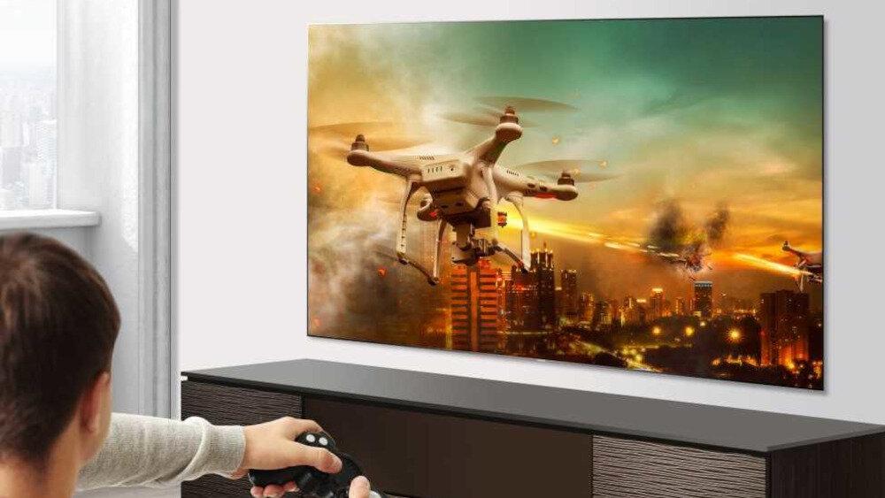 HISENSE LED U7QF TV - дизайн