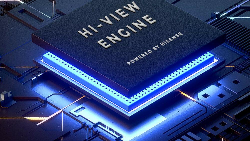 HISENSE LED U7QF TV - Hi-View Engine