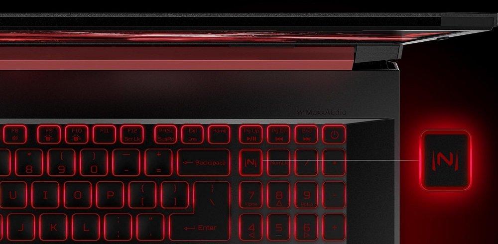 Laptop Acer Nitro 5 NitroSense podświetlona klawiatura skok 1,6m
