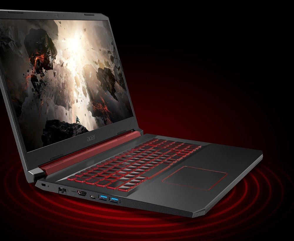 Laptop Acer Nitro 5 TrueHarmony Waves MaxxAudio dzwięk